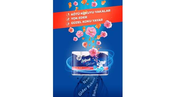 Selpak'tan Türkiye'de ilk ve tek: Kötü kokuyu yok eden tuvalet kağıdı: Selpak Deluxe Re-Fresh