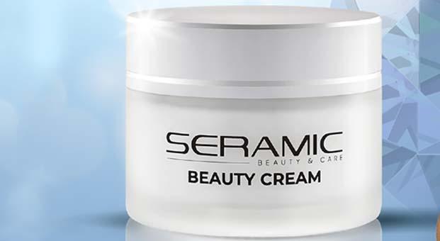 Sinoz Seramic Beauty Cream ciltlere ışıltı saçıyor
