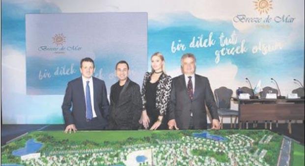 Serdar Ortaç ve Chole konut projesinin reklam yüzü oldu