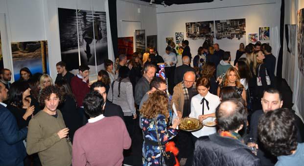 Mehmet Gazioğlu'nun yeni sergisi ilgiyle karşılandı