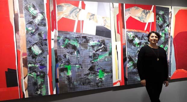 Zeynep Dilek ve Mehmet Çetiner çiftinin 'Özet' adlı sergisi Galeri Diani'de