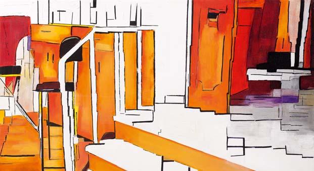 """Özkan Özyurtcu'nun """"Kimsesiz Mekânlar"""" isimli sergisi Galeri Miz'de sanatseverler ile buluşuyor"""