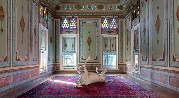 'Kapı Çalana Açılır' sergisine yoğun ilgi