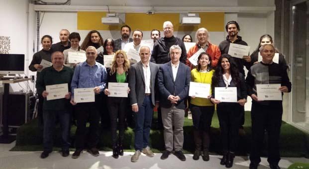 Ekonomi gazetecileri sertifikalarını aldı