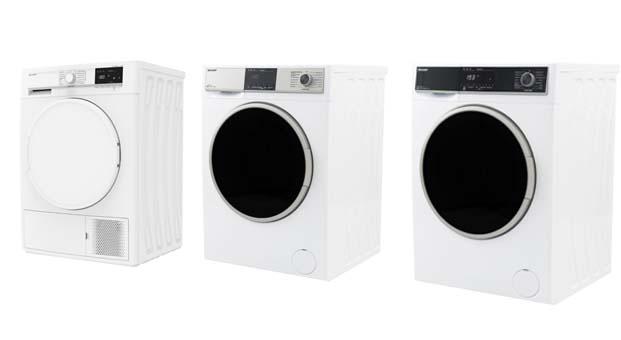 Vestel City'de üretilen Sharp çamaşır ve kurutma makinelerine Almanya'dan tam not