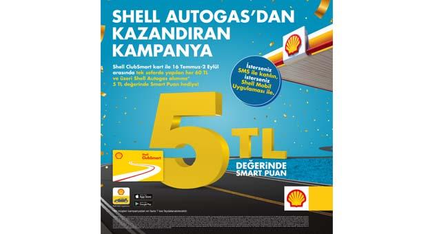 Shell'den kazandıran LPG kampanyası