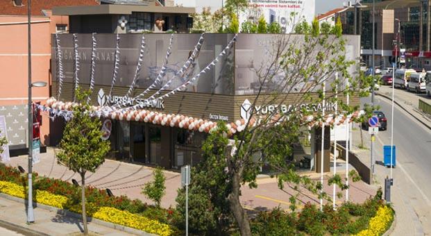 Yurtbay Seramik İstanbul Anadolu yakasına A+ Konsept Showroom'u Ökten İnşaat ile açtı