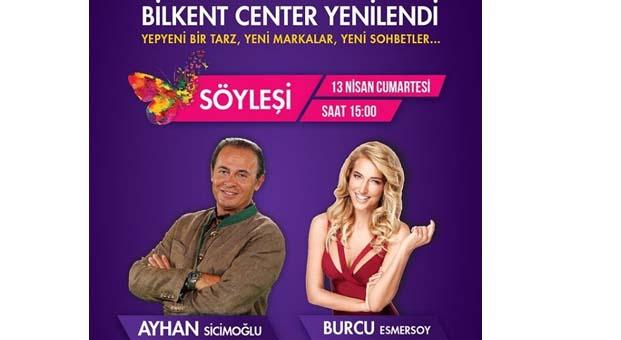 Ayhan Sicimoğlu ve Burcu Esmersoy söyleşide buluşacak