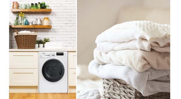 Hotpoint Aktif Köpük ile çamaşırlarınız kışa hazırlanıyor