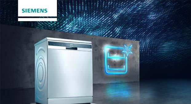 Siemens brillantShine teknolojisi ile bulaşıklardagöz alıcı parlaklık