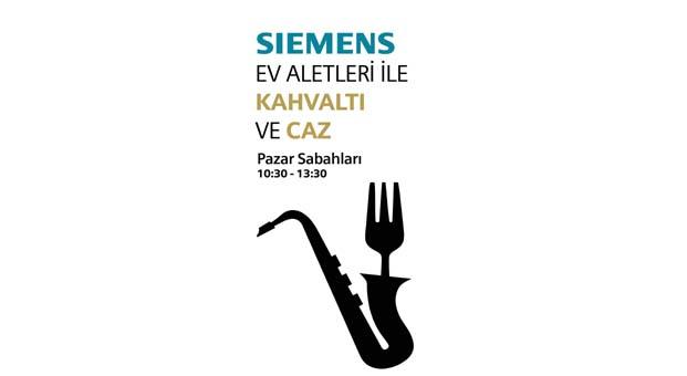 Siemens ile bahar kahvaltılarında caz keyfi