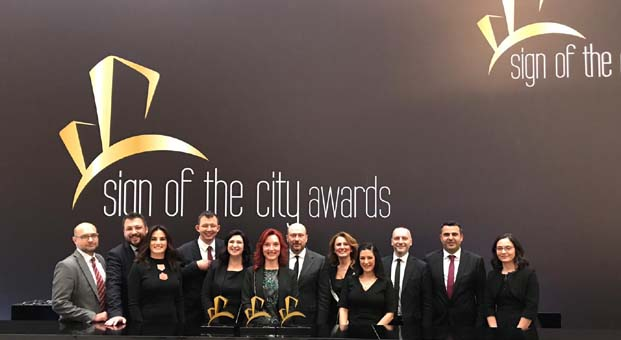 Sign Of The City Awards'da Tahincioğlu'na üç ödül birden