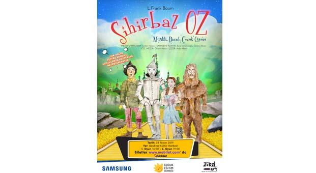 Sihirbaz Oz bu sefer işitme engelli çocuklar için sahneliyor