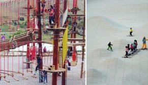 Sinpaş'ın Altınoran projesi, çocuklara tatil keyfini yaşatıyor