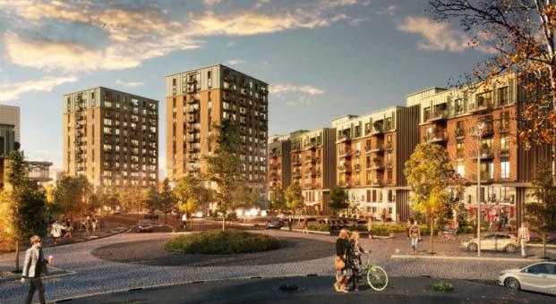 Dünyanın yeni finans merkezinde Sinpaş ile yeni bir şehir doğuyor