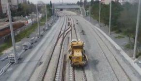Halkalı-Sirkeci arasında lokomotiflerin test sürüşü başladı