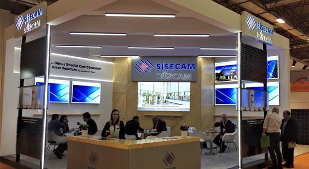 Şişecam Düzcam 'SolarexİstanbulFuarı'nda ürünlerini sergiledi