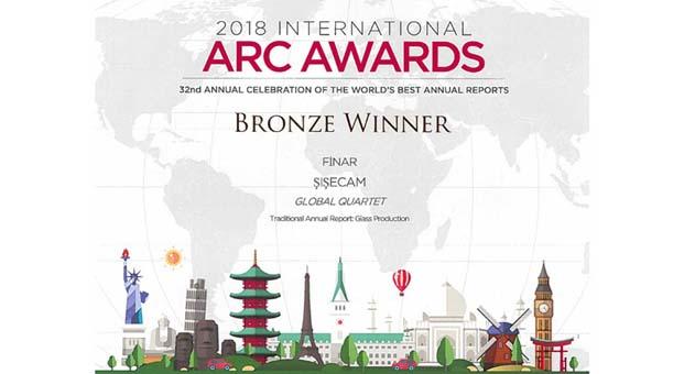 Şişecam'ın Faaliyet Raporu'na Bronz Ödül