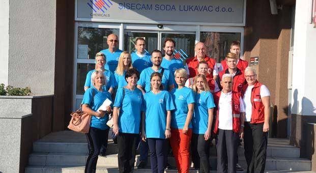 Şişecam Gönüllüleri'nin yurt dışındaki ilk durağı Bosna Hersek oldu