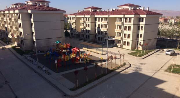 Sivas Şarkışla'da 253 konutun kurası çekildi