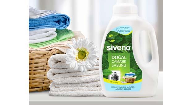 Siveno doğal çamaşır sabunu ile güvenli temizlik