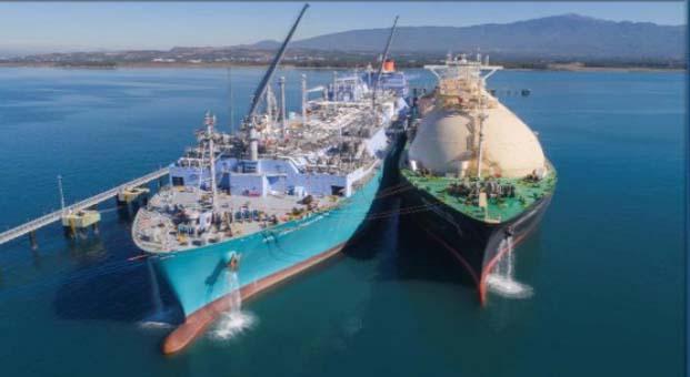 Japon MOL ve Türk Karpowership'ten Sıvı Doğal Gaz ile Enerji Üretmek üzere iş birliği