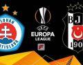 Slovan Bratislava Beşiktaş maçı ne zaman saat kaçta hangi kanal canlı yayınlıyor?