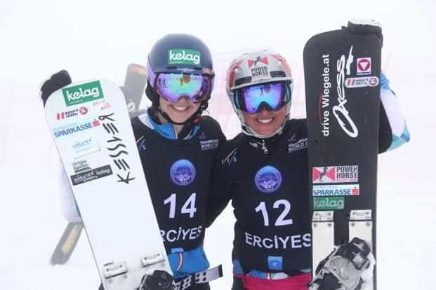 Dünyanın en iyi snowboardcıları Erciyes'te