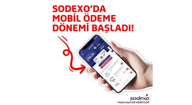 Sodexo'da mobil ödeme dönemi başladı