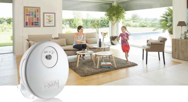 Somfy ile evinizin ısısını ayarlayın ve tasarruf edin