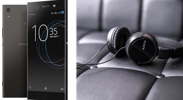 Xperia XA1 Ultra Sony Kulaklık ile beraber Turkcell Mağazalarında