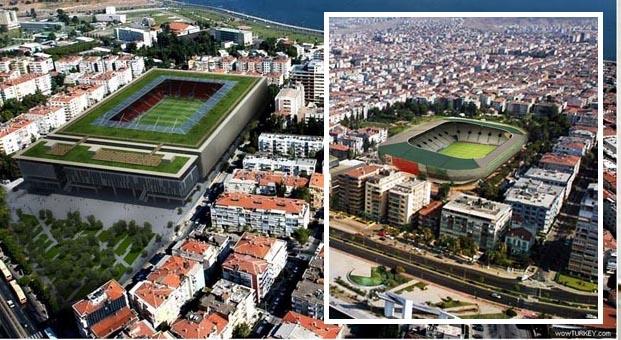 TOKİ, İzmir Göztepe ve Karşıyaka'ya stad yapacak