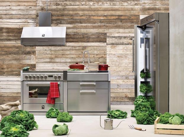 Steel ile mutfağınıza İtalyan tarzını taşıyın