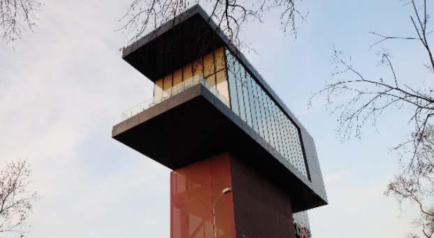 Studio Vertebra'dan farklı tasarım: Validebağ Konakları Satış Ofisi