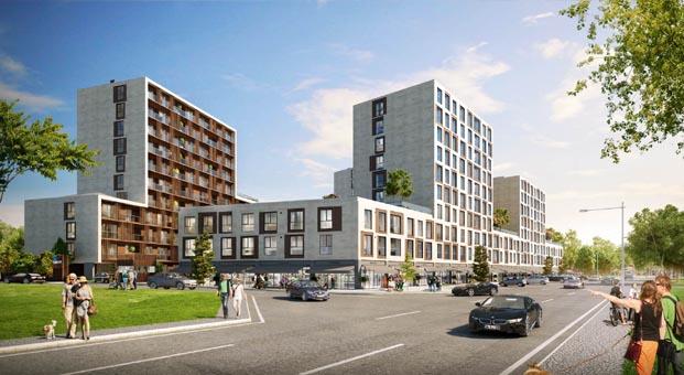 Sur Yapı'dan Topkapı'ya 300 milyon TL değerinde yeni proje