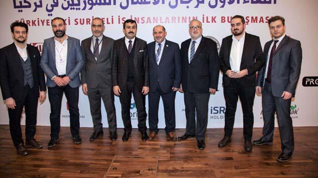 Suriyeli iş insanlarına Türkiye'deki fırsatlar sunuldu