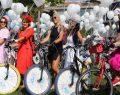 6. Süslü Kadınlar Bisiklet Turu 15 bini aşkın katılımcıyla gerçekleşti