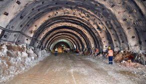 İzmir'in en uzun tüneli 183 milyon liraya mal olacak