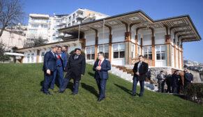 Vali Şahin Beyoğlu'ndaki çalışmaları inceledi