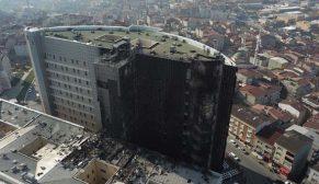GOP Taksim İlkyardım Eğitim ve Araştırma Hastanesi'nin Yangın Raporu açıklandı