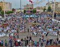 Birlik sofraları Taksim Meydanı'nda kuruldu