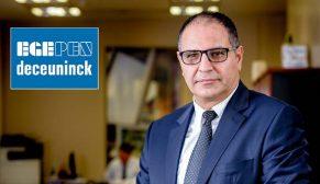 Egepen Deceuninck 15 bin ton ihracat hedefliyor
