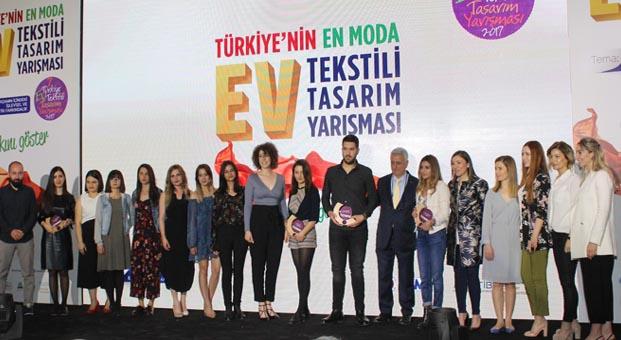 7. Türkiye Ev Tekstili Tasarım Yarışması Ödülleri sahiplerini buldu