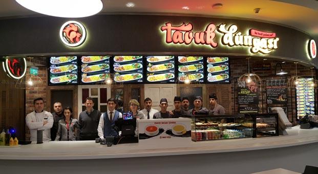 Tavuk Dünyası, Orjin Plaza'da açılan yeni restoranıyla şimdi de Maslak'ta
