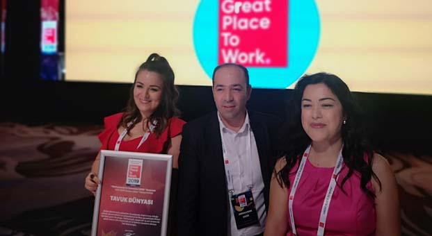 Başarılı İK vizyonuTavuk Dünyası'na çifte ödül getirdi