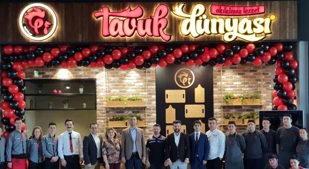 Tavuk Dünyası yeni restoranıylaşimdi de Manisa'da