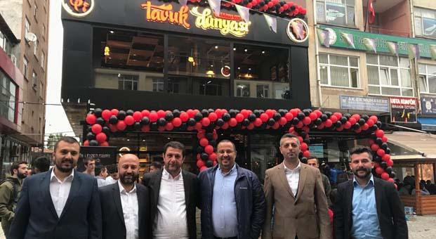 Tavuk Dünyası, Rize Osman Karavin Caddesi'nde ilk restoranını açtı