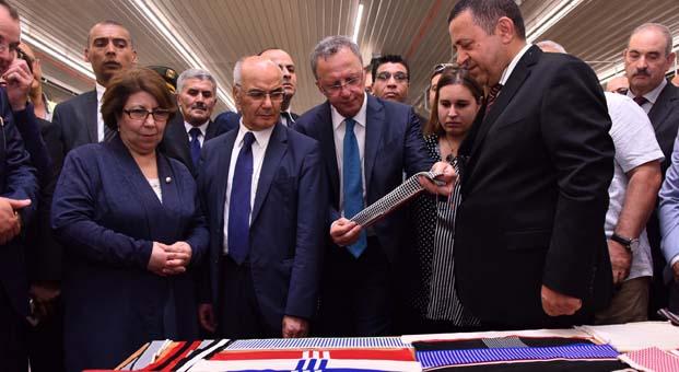 Tay Group, Cezayir'deki tesislerinden ilk iplik ihracatını gerçekleştirdi
