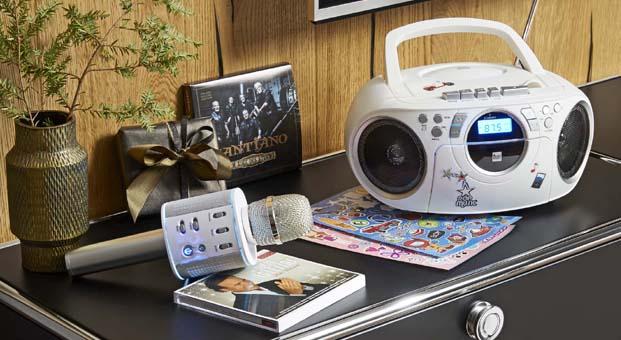 Tchibo'dan yılbaşı akşamı parti heyecanını evlerine taşımak isteyenlere Bluetooth Karaoke Mikrofonu