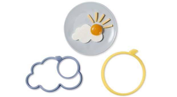 Tchibo'dan çocuklar için eğlenceli yumurta kalıpları